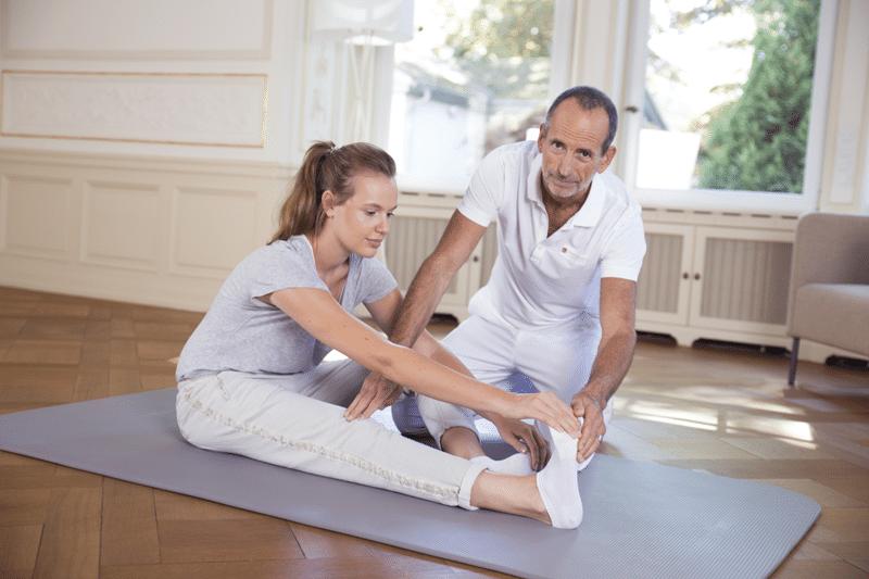 Liebscher und Bracht Schmerztherapie Engpassdehnung